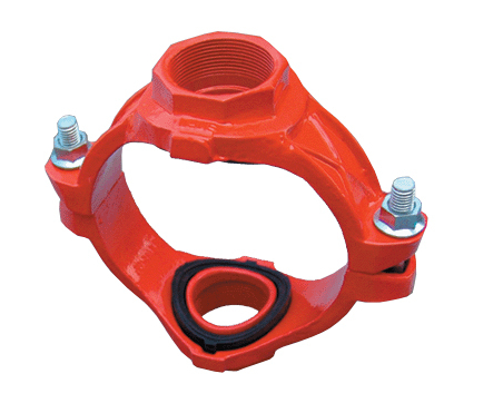 Grooved Fitting of Flexible Coupling Street Elbow cap