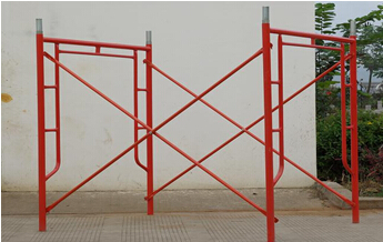 Steel H frame Scaffolding Materials Q235