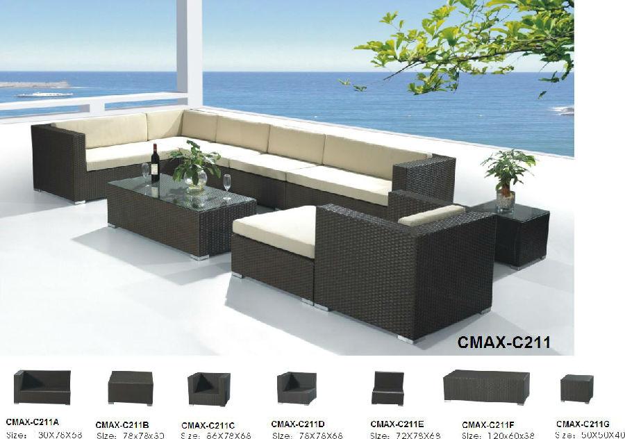 Garden Sofa for Outdoor Furniture CMAX-C211