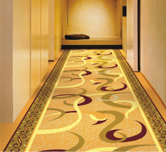 Nylon Commercial Corridor Carpet Flooring