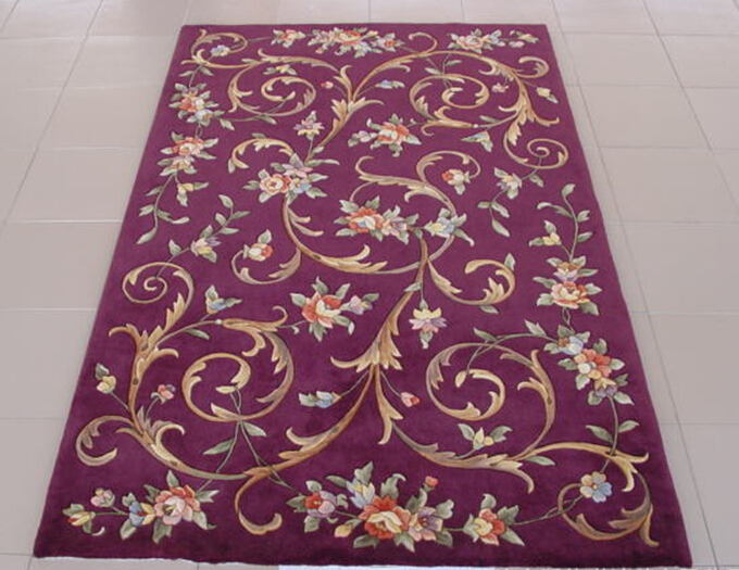 Hand Carved Wool Rugs,Acrylic Rugs,Polyester Carpet Made in China