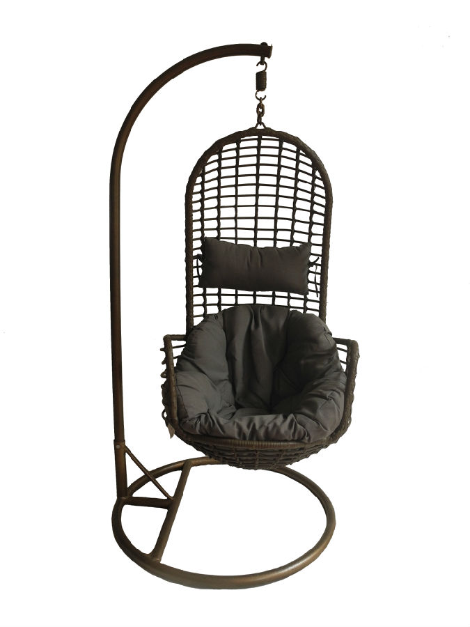 Outdoor Rattan Egg Leisure Couple Hanging Chair CMAX-CX003