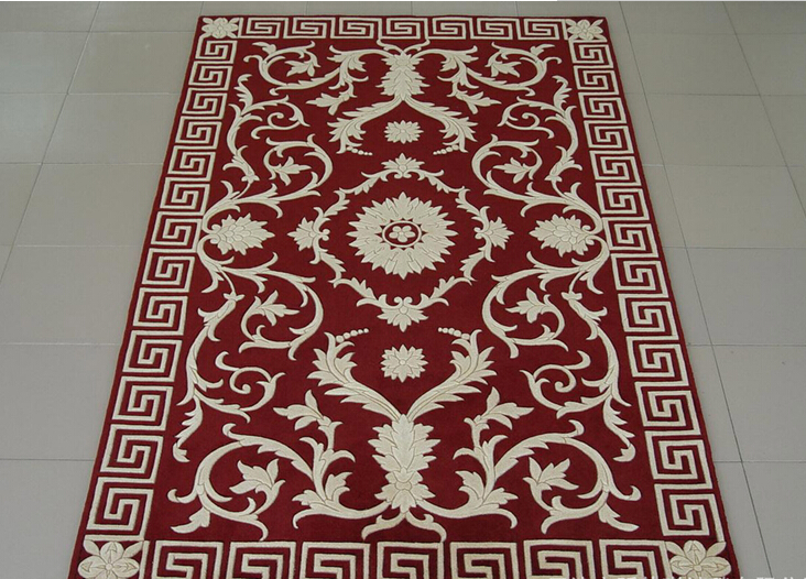 High Quality Home Used Hand Tufted Area Wool Rugs