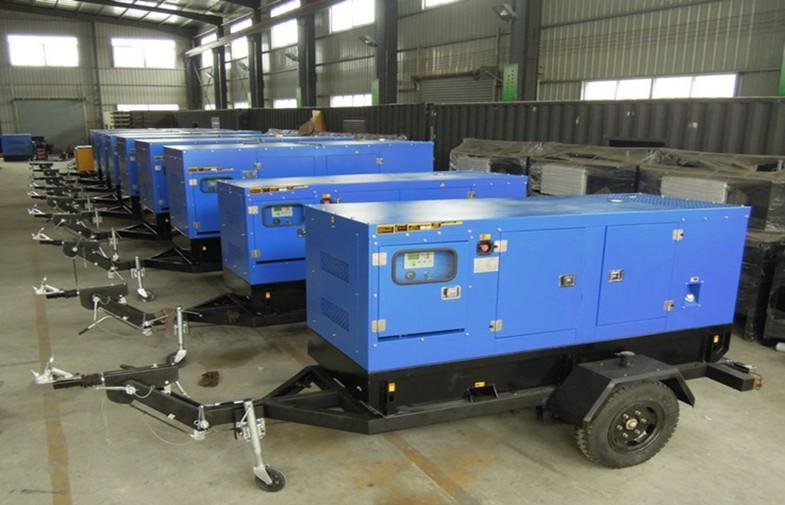 Truck / Trailer Genset Diesel Generator500kva  Perkins With AMF