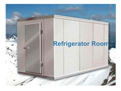 PCM based cold storage room