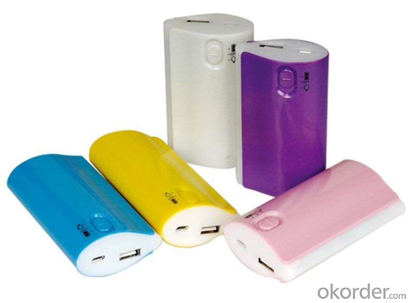 2014 Hot Sell Nice Design Power Bank, Portable Mobile Power Supply 5200mAh Power Bank