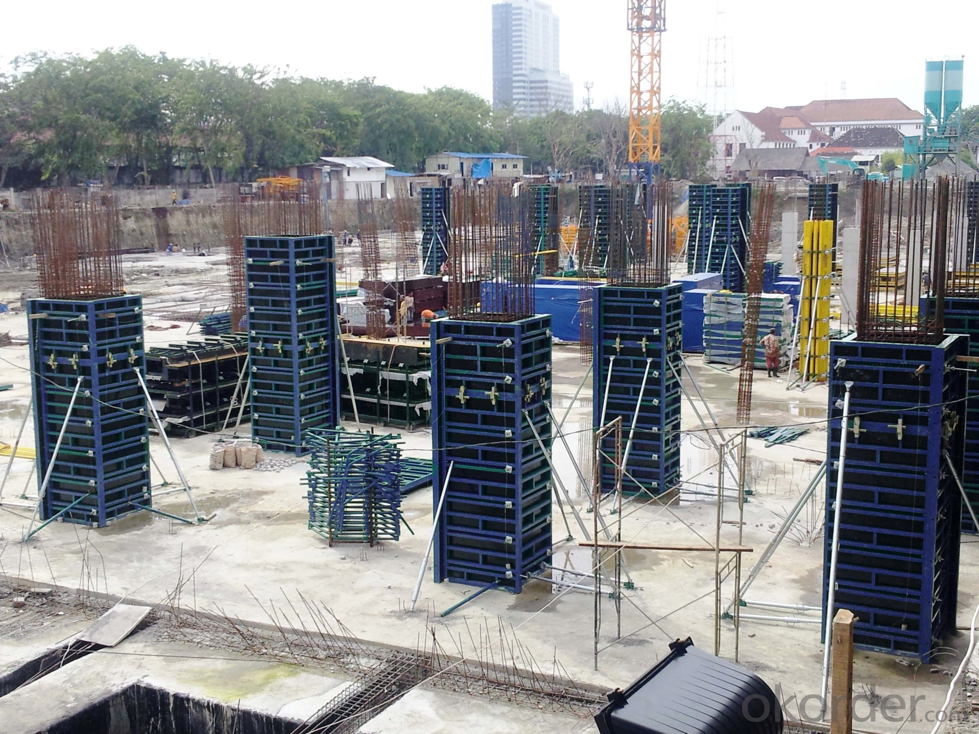 Adjustable SF120 System for Rectangle / Square Concrete Column Formwork