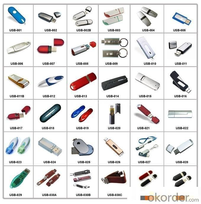 32MB-128GB High-Speed Read and Write Keychain USB Flash Drive (P333)