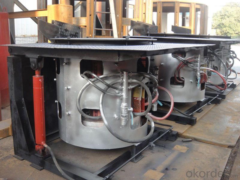 0.5ton Coreless Medium Frequency Induction Furnace