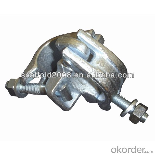 Steel Scaffolding Forged Single Half Coupler