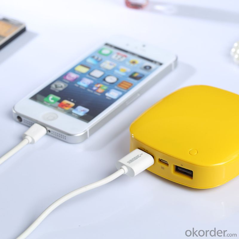 5200mAh Portable Mobile Accessories Power Charger with LED Indicator