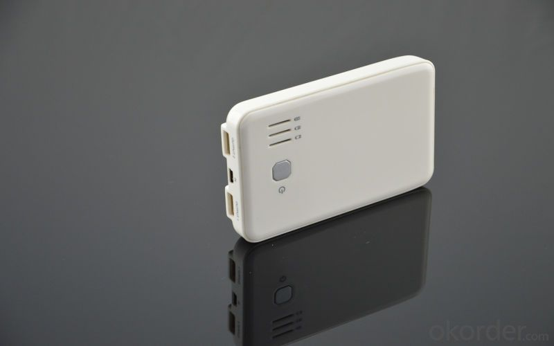 White Color USB Power Charger for Mobile (PW-01)