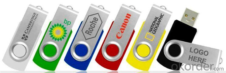Colorful Swivel USB Flash Drive (DN-01)