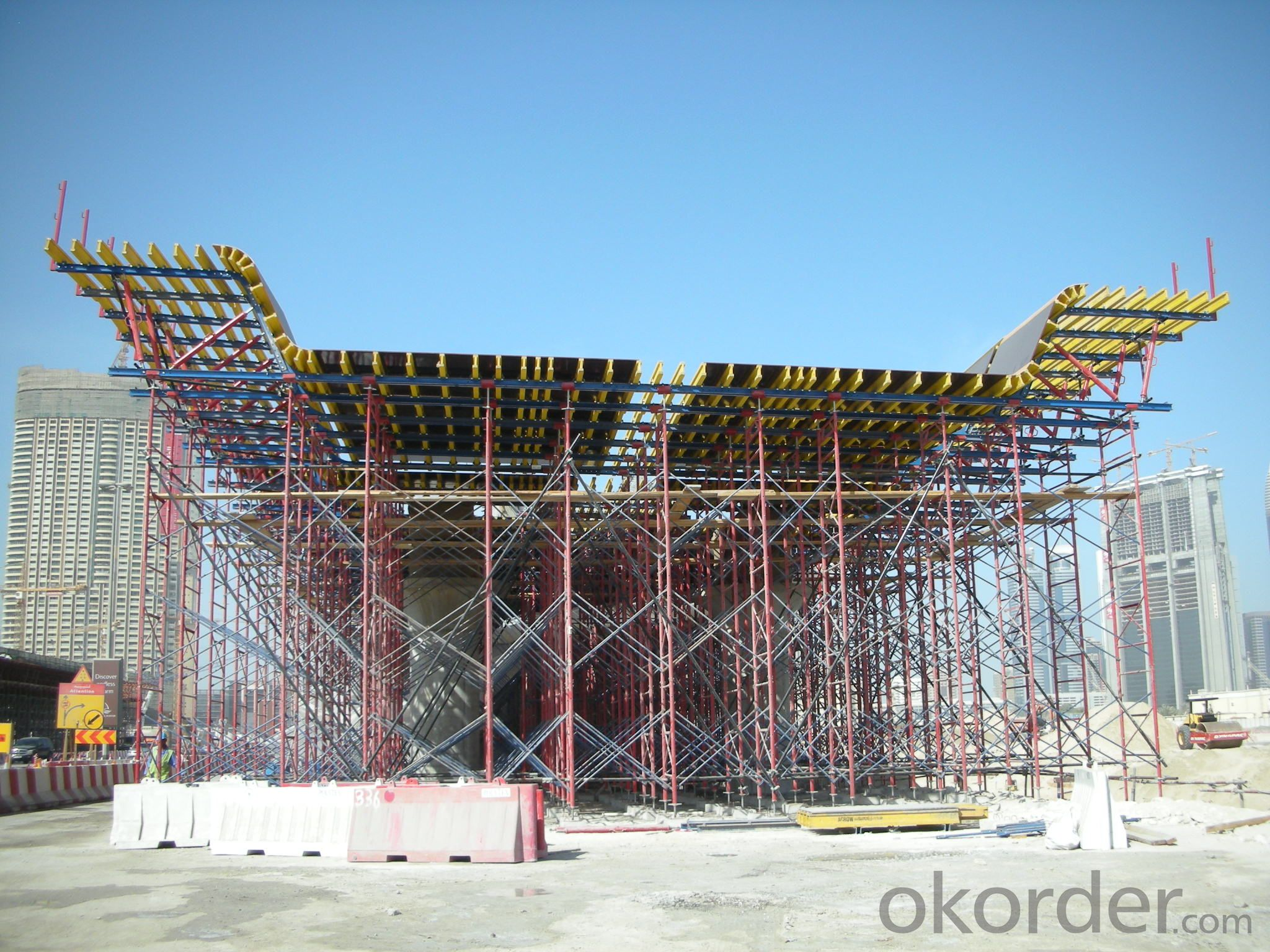 Light Weight Girder Box Formwork , Scaffold Formwork with Timber Beam