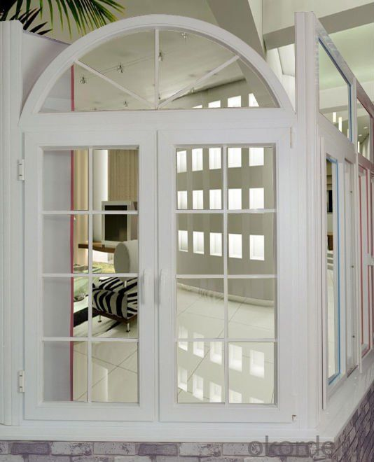 high quality pvc casement window,double glazed windows