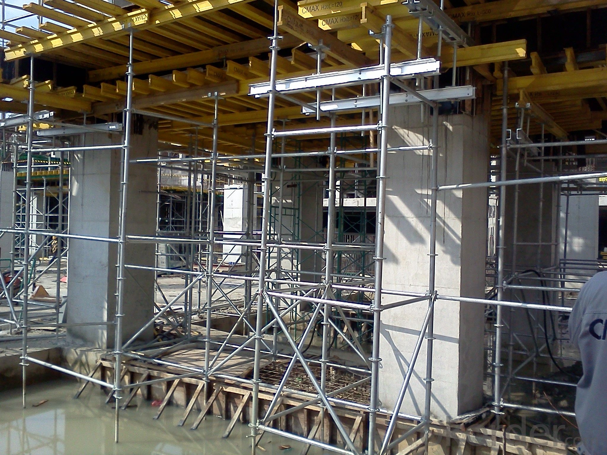 Quick Assembly Slab Formwork System with Ring Lock Scaffolding