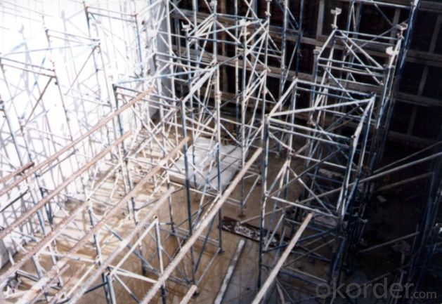 Flexible Tower Scaffolding / Scaffold Shoring System For Industrial Buildings
