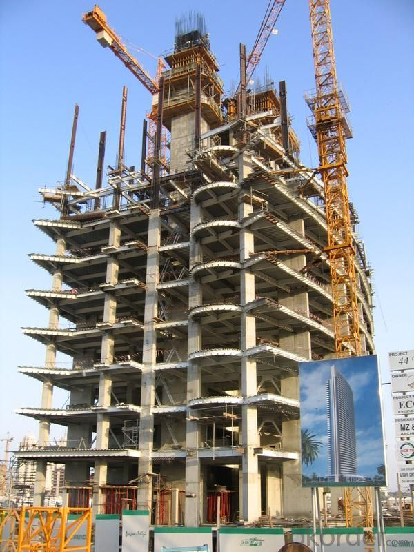 Fast , Efficient Automatic Climbing Formwork System ACS50 for High Building