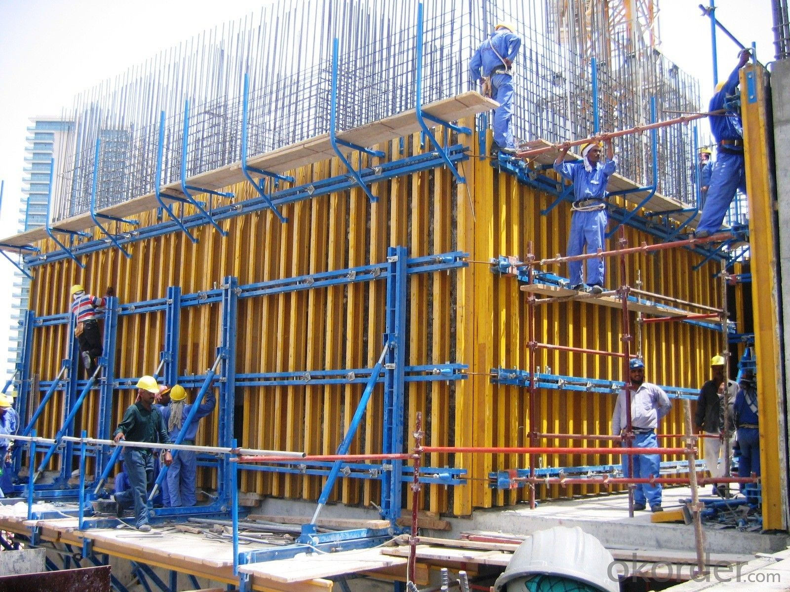 Adjustable Waterproof Climbing Formwork With High Bearing Capacity