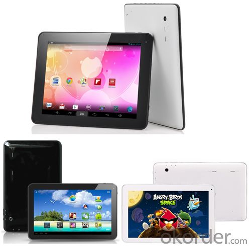 10 Inch Quad Core Android 4.4 Tablet PC, Bluetooth and 16GB Memory