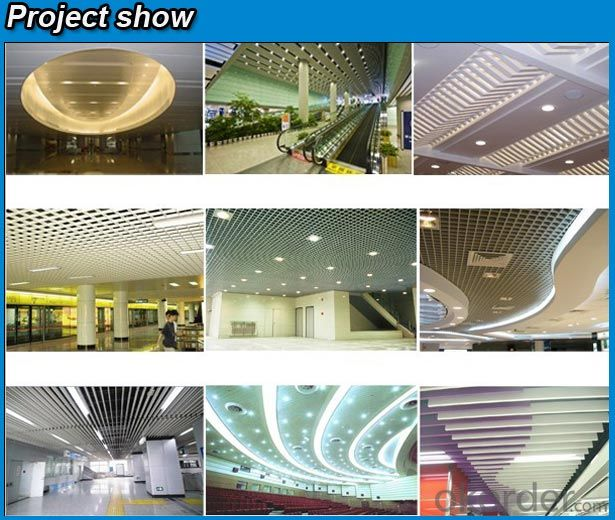 hot sale popular lay in aluminum ceiling tile