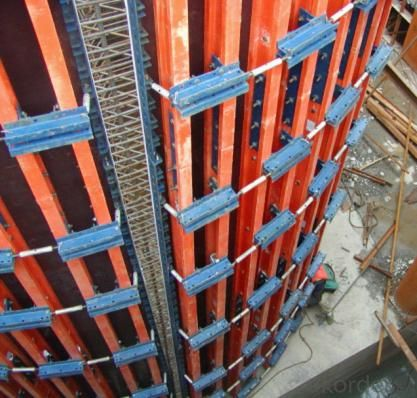 H20 Timber Beam Formwork / Concrete Wall Formwork For Pouring Circular Wall
