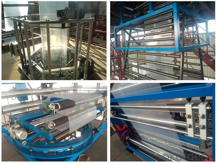 7layer Film Blowing Machine for Food Package