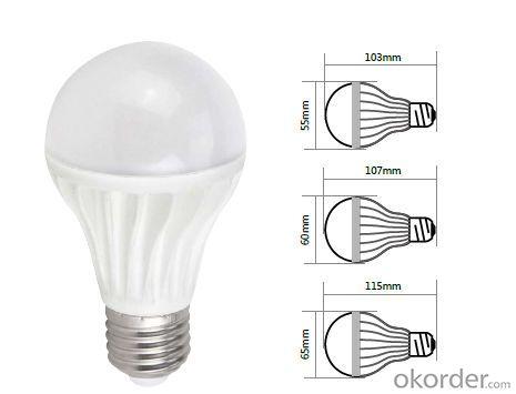 Led bulb light A65 E27 led ningbo light bulb