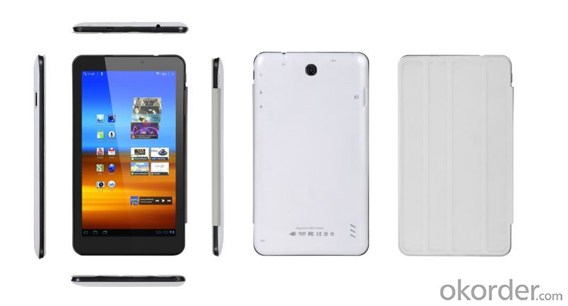 Ug-Ts4 7inch Capacitive 800X480 Rk3026 Dual Core 1.2GHz Android 4.2 Tablet PC with WiFi