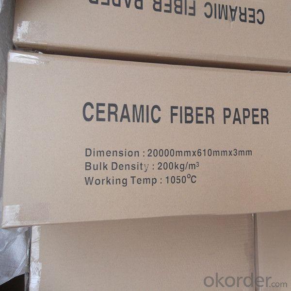 Ceramic Fiber Paper of high temperature for carbon furnace, glasses furnace