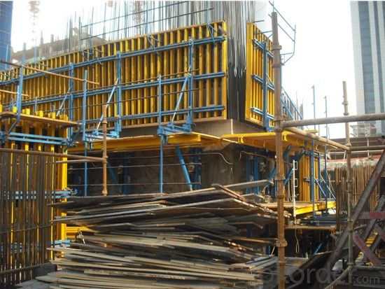 Self Climbing Formwork System For Labor Saving, Site Saving ACS50