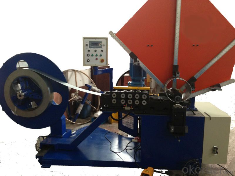 spiral duct making machine