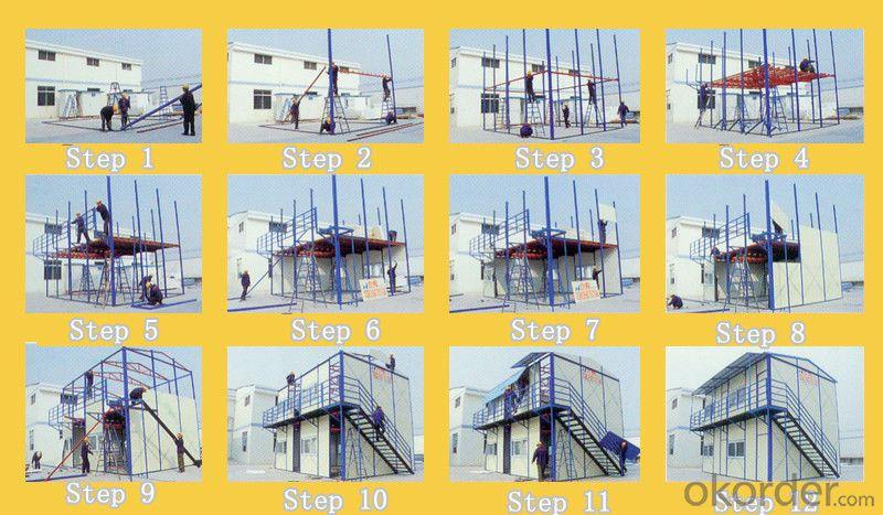 Fireproof Panels Prefab House/color steel laminboard