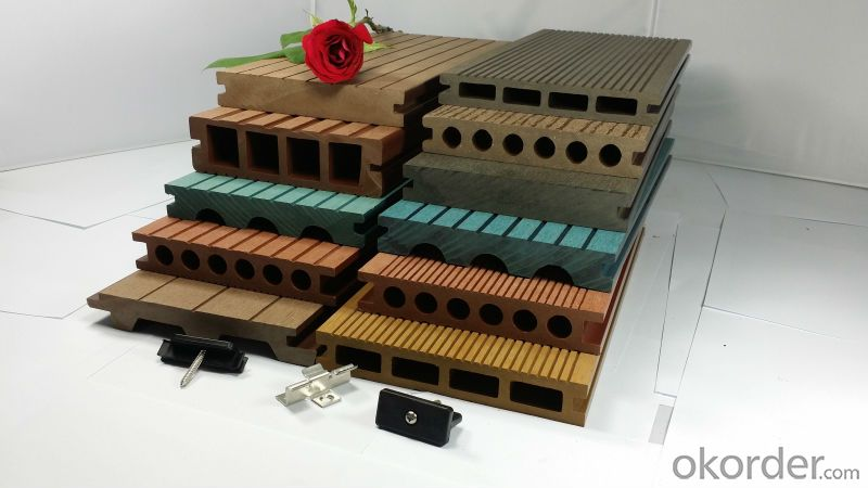 outdoor wpc decking supplier, china factory, Engineered Flooring Type