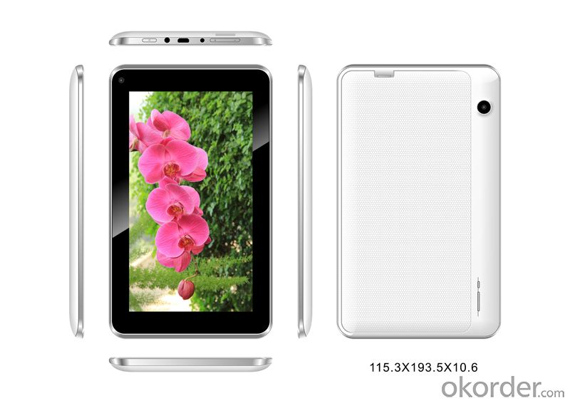 7 Inch Dual Core Dual Camera Cheapest Tablet PC with WiFi