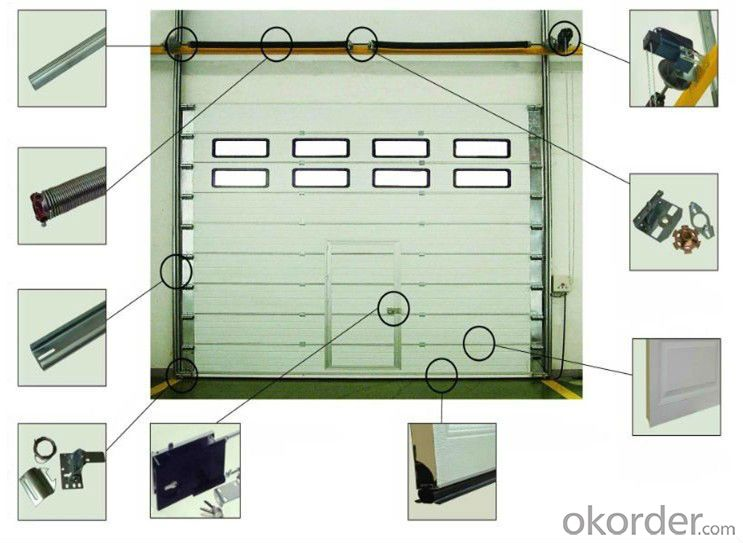 Factory door industrial sliding door