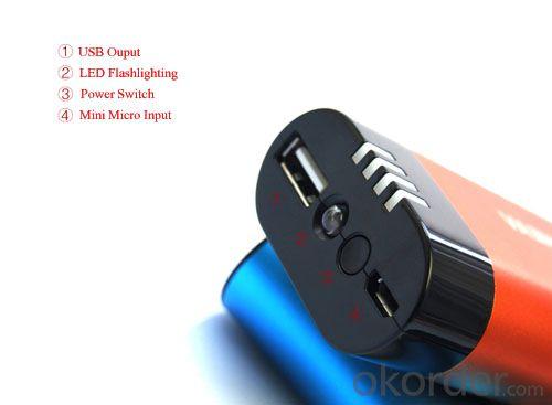 5200mAh Portable Power Bank Hand Warmer (SPB-1008-2)