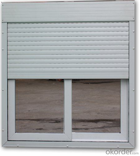 UPVC Sliding window with electric Roller Shutter