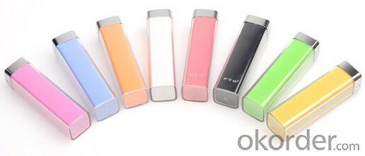 Power Bank 2600mAh Universal USB External Backup Battery Lips Charger