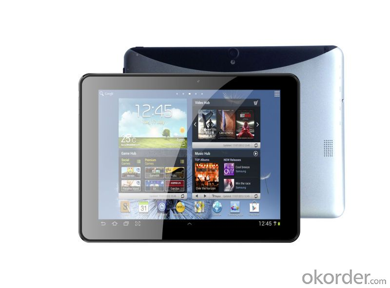 9.7 Inch New Quad Core Tablet Mtk8389 with GPS 3G Built in 16GB