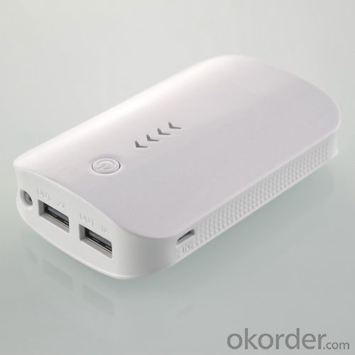 Mobile Charger High Capacity Power Bank for Samsung/ iPad /iPhone