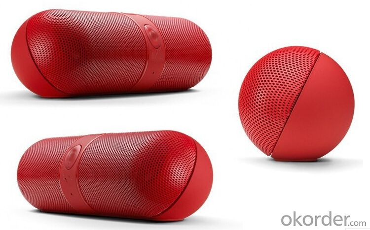 Portable Wireless Bluetooth Pill Mini Speaker with Nfc