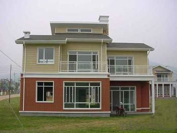 steel prefabricated house and villa