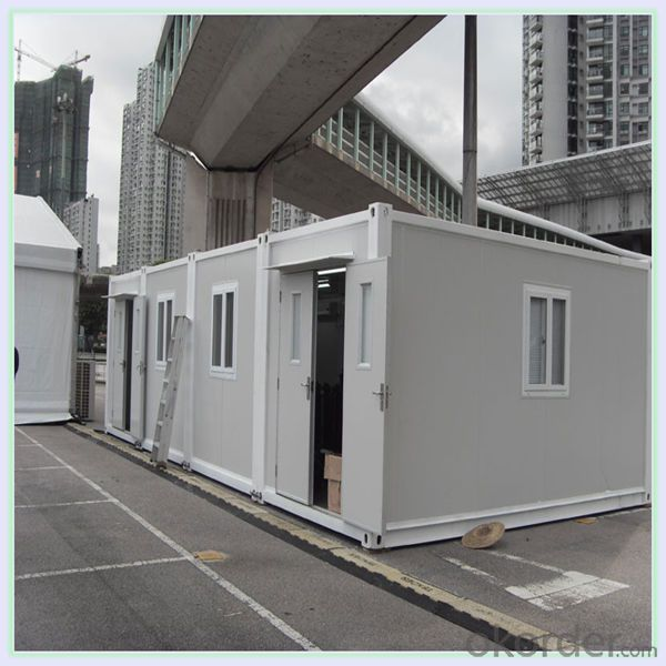 Buy 2016 New Prefab Two Story Container House With Balcony