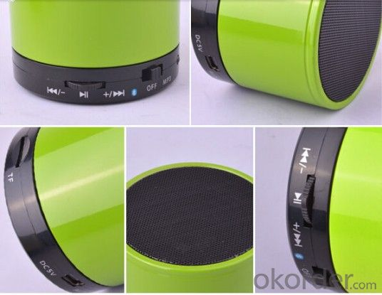 Mini Colorful Rechargeable Stereo Wireless Bluetooth Speaker