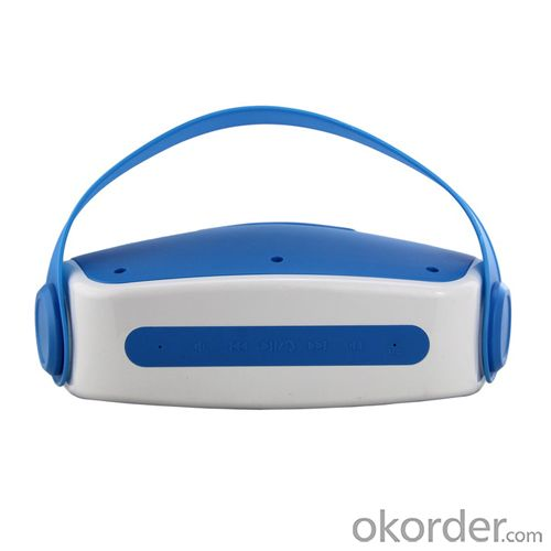 2014 Portable Wireless Bluetooth Speaker with Mic Blue