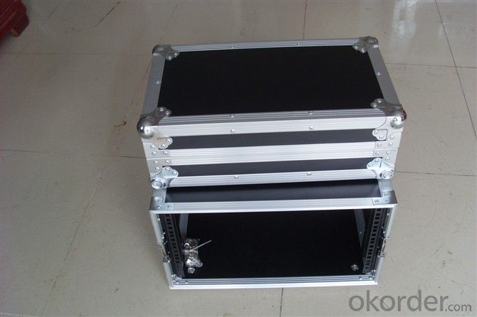 China OEM 6u Rack Flight Case/6u Space Rack Case