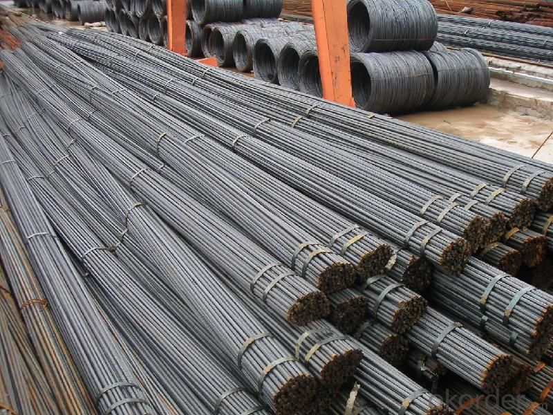 Deformed Steel Bar, Steel,Hot Rolled Steel Structure,China Manufacture H500B 12M