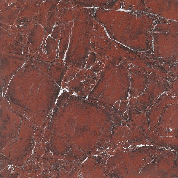 Polished Glazed Tile Red Stone CMAX 6666