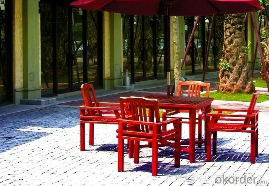 Polywood Round Table Outdoor Furniture Patio Teak Wood Garden Furniture